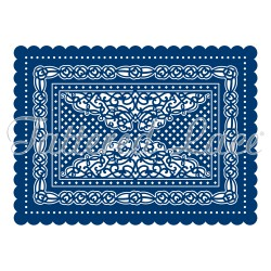 Tattered Lace Dies - Haddon Scallop Rectangle