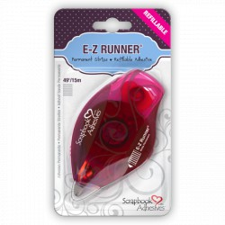 E-Z Runner Strips Permanente Recargable