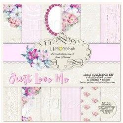 Just Love Me - Lemon Craft Stack 12x12
