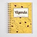 Agenda AMARILLA - Pega papel o Tijeras