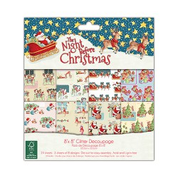 The Night Before Christmas - Trimcraft Kit 6x6
