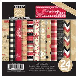 Nordic Pines Christmas - Bazzill Basics Kit 6x6