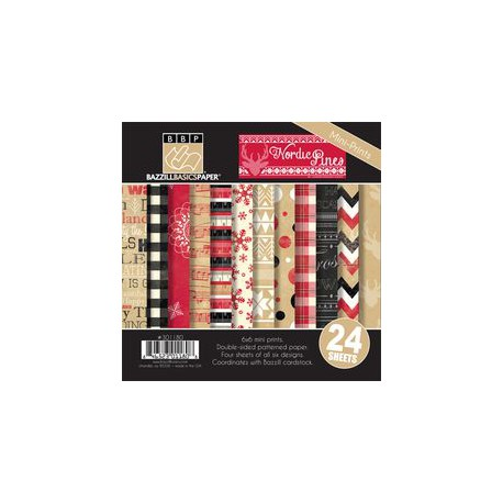 Nordic Pines Christmas - Bazzill Basics Kit 6x6