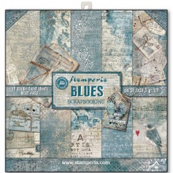 Blues - Stampería Stack 12x12
