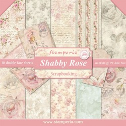 Shabby Rose - Stampería Stack 12x12