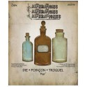 Troquel Bigz - Tim Holtz - Alterations Collection - Apothecary Bottles