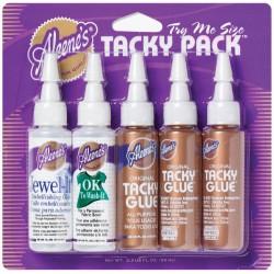 Tacky Glue Pack (5 botes 3 tipos)
