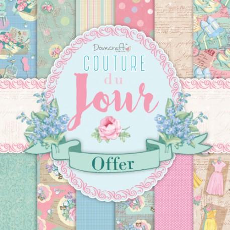 "Couture du Jour - Dovecraft Stack 12""x12"""