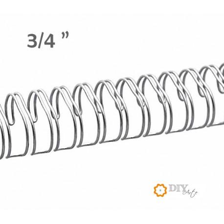 """Wire Plata 3/4"""" (Ø 19 mm)"""
