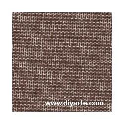 Tela de encuadernación (50×50 cm) - Color Lino marrón oscuro