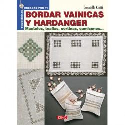 Bordar vainicas y hardanger (Tapa blanda)