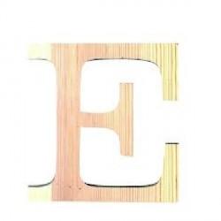 Letra de Madera Artemio - 11,5 cm - E