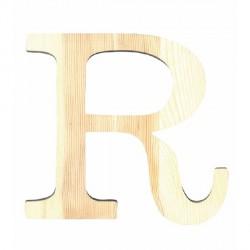 Letra de Madera Artemio - 11,5 cm - R