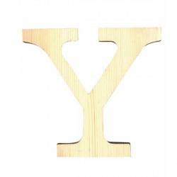 Letra de Madera Artemio - 11,5 cm - Y