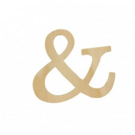 Letra de Madera Artemio - 11,5 cm - &