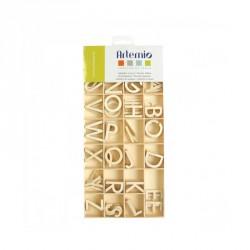 Alfabeto de Madera Artemio - 3 cm - 130 piezas