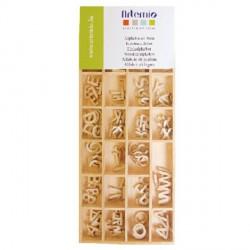 Alfabeto de Madera Artemio - 1,3 cm - 162 piezas