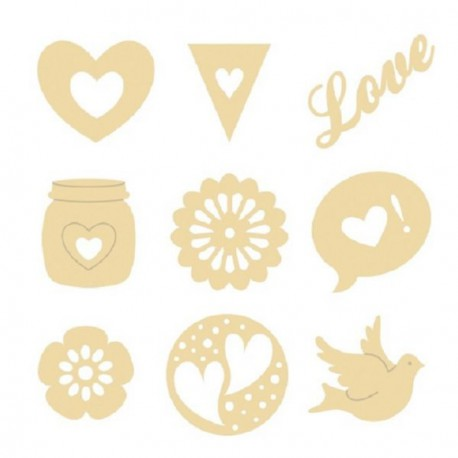 Set madera Artemio - Love