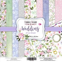 "Wedding - Fabrika Decoru Stack 12""x12"""