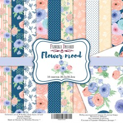 "Flower Mood - Fabrika Decoru Stack 12""x12"""