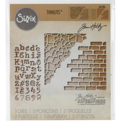 Troquel Thinlits - Tim Holtz - Mix Media 3