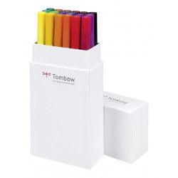 Colores Primarios - Set de 18 rotuladores - Dual Brush Tombow
