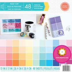 "Paint Chip - Craft Smith Stack 12""x12"""