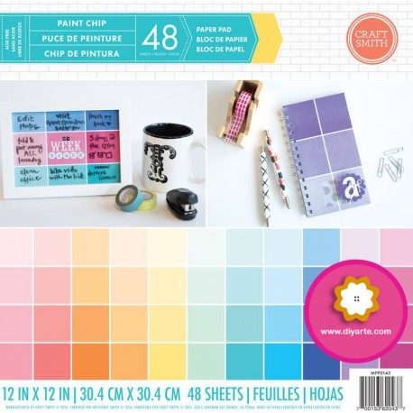 """Paint Chip - Craft Smith Stack 12""""x12"""""""
