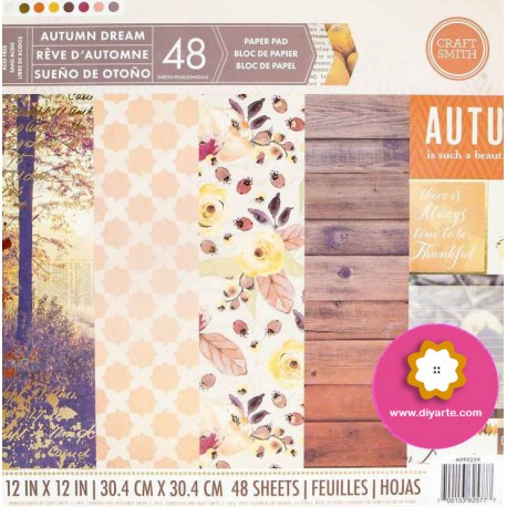 "Autumn Dream - Craft Smith Stack 12""x12"""