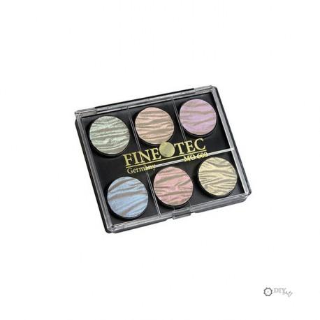Set de 6 Pigmentos Finetec Pearl Colors M600S