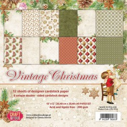 Vintage Christmas - Craft & You Stack 12x12