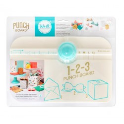 1-2-3 Punch Board - Color Mint