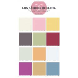 Kit Papeles Colores Mediterraneo - Los Básicos de Elena