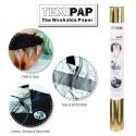 Metallic Gold 50cm x 110cm - Heyda TEXIPAP Washable Paper Fabric