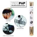 Metallic Rose Gold 50cm x 110cm - Heyda TEXIPAP Washable Paper Fabric