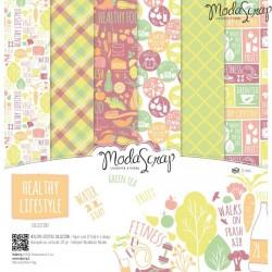 Healthy Lifestyle - ModaScrap 12 x 12