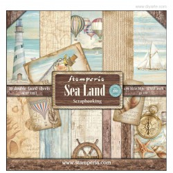 Sea Land - Stampería Stack 12x12