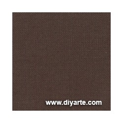Tela de encuadernación (50×50 cm) - Color Marrón Oscuro