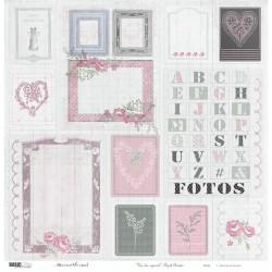 "Etiquetas Papel Bonito - Un Día Especial by Marisa Bernal - Basic Crea Stack 12""x12"""