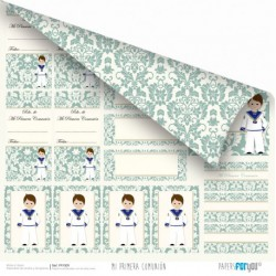 Primera comunión Niño - Recuerdos - Papers For You