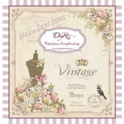 """Dayka SCP-1003 Block 24 hojas """"Vintage"""""""