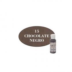15 Chocolate negro - Acrílico Artis 60ml - Dayka