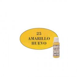 25 Amarillo huevo - Acrílico Artis 60ml - Dayka