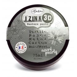 Silver Nacarado - Pasta de textura Izink 3D