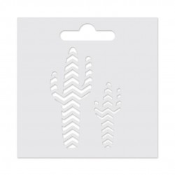 Piña - Plantilla 8 x 8 cm para pasta de textura 3D