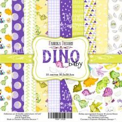 "Dino Baby - Fabrika Decoru Stack 12""x12"""