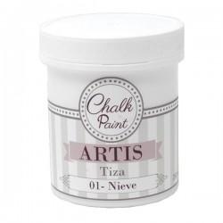 01 Nieve - Pintura Tiza Chalk Paint Artis Dayka