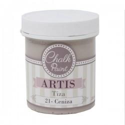 21 Ceniza - Pintura Tiza Chalk Paint Artis Dayka