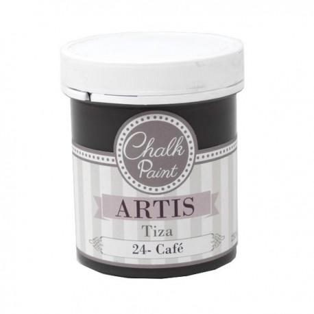 24 Café - Pintura Tiza Chalk Paint Artis Dayka