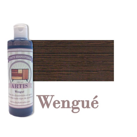 Wengué - Tinte de Ebanistería Artis Dayka